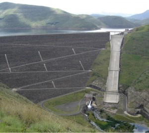 Mohale dam, Lesoto Africa