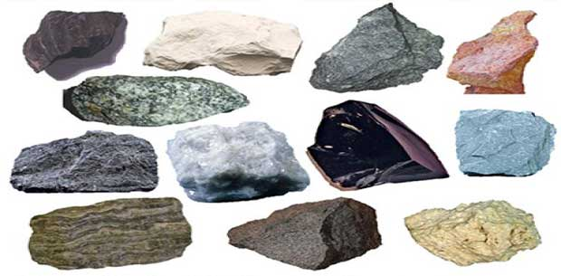 Types Of Stones : Types of rocks classification stones